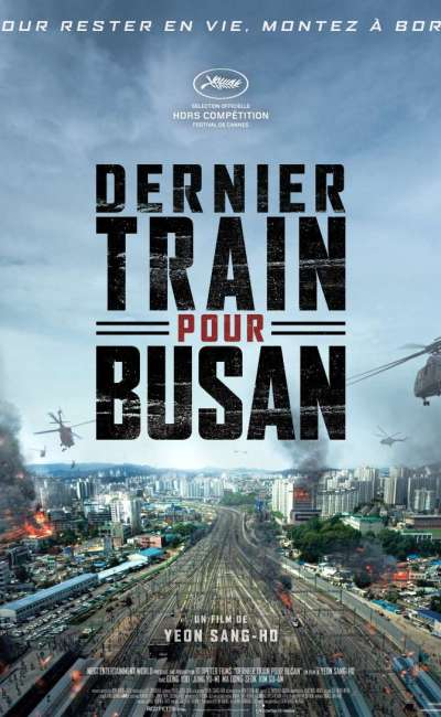 Dernier train pour Busan, l'affiche