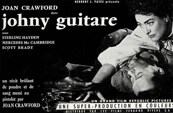Johnny Guitare, promo France 1954