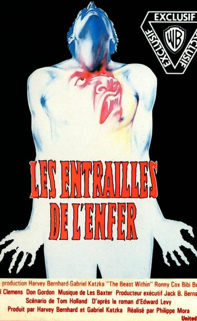 Les entrailles de l'enfer, VHS France Warner Home Vidéo