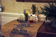 Father Laurence's belongings at 360 Screenings.
