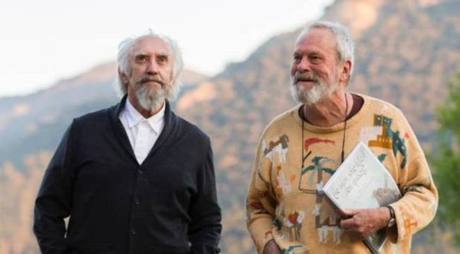 El hombre que mató a Don Quijote, Terry Gilliam
