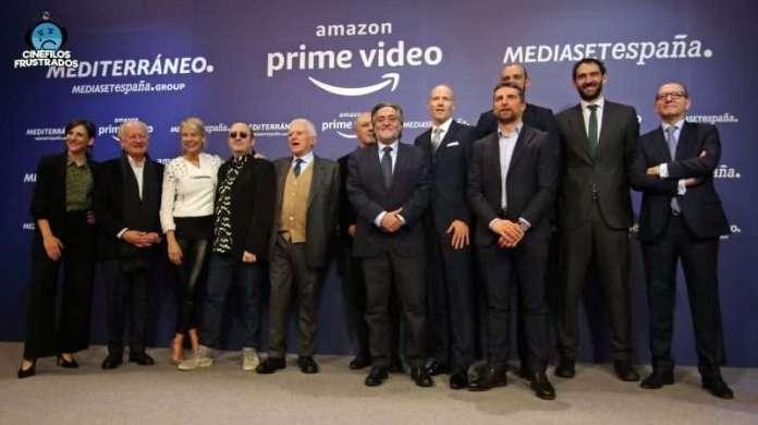 Presentación Mediaset Amazon