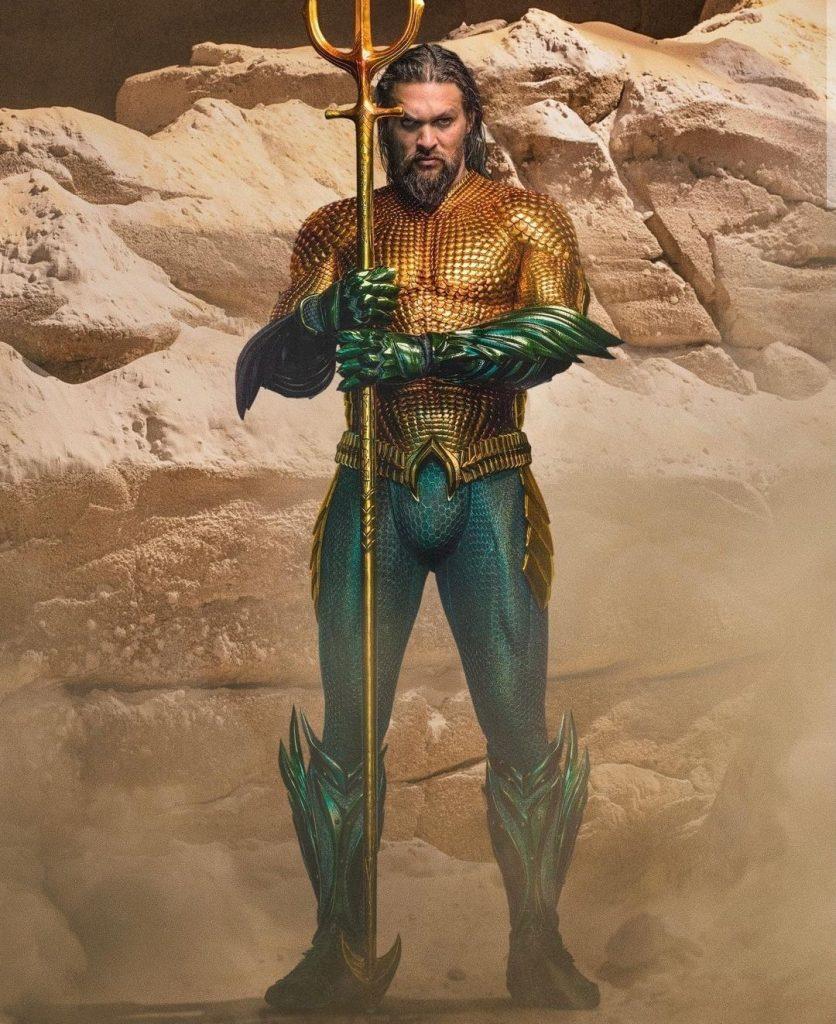 Nuevas imágenes de Aquaman and The Lost Kingdom, con Jason Momoa