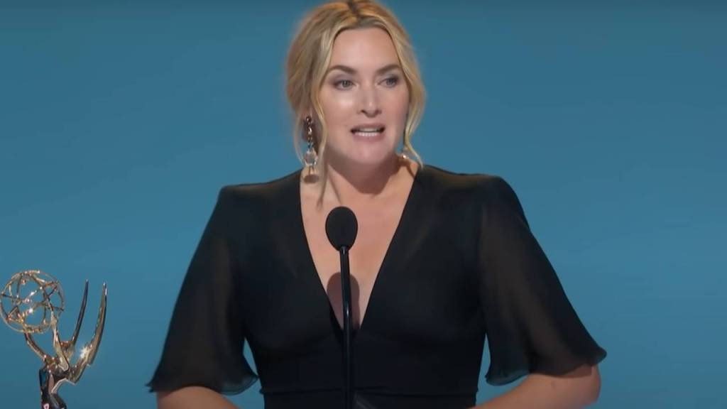 El emotivo discurso de Kate Winslet tras ganar el Emmy