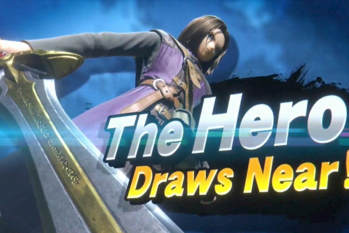 "¡""The Hero"" de Dragon Quest se una a la lucha en Super Smash Bros Ultimate!"