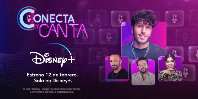 CONECTA Y CANTA EN EXCLUSIVA A DISNEY+