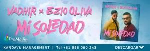 """México y Perú unidos por las voces de Vadhir y Ezio Oliva en el tema """"Mi Soledad"""""""