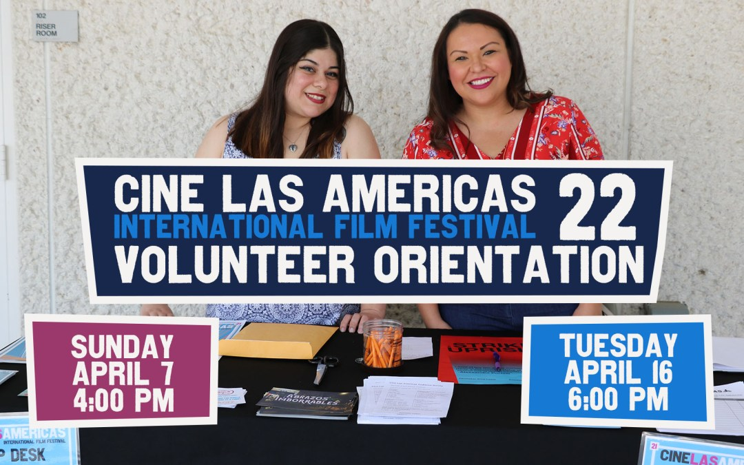 CLAIFF22 Volunteer Orientation
