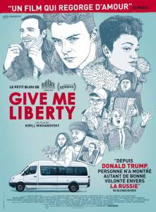 "Affiche du film ""Give Me Liberty"""