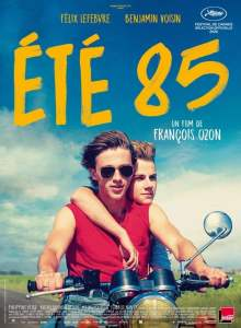 """Affiche du film """"Été 85"""""""
