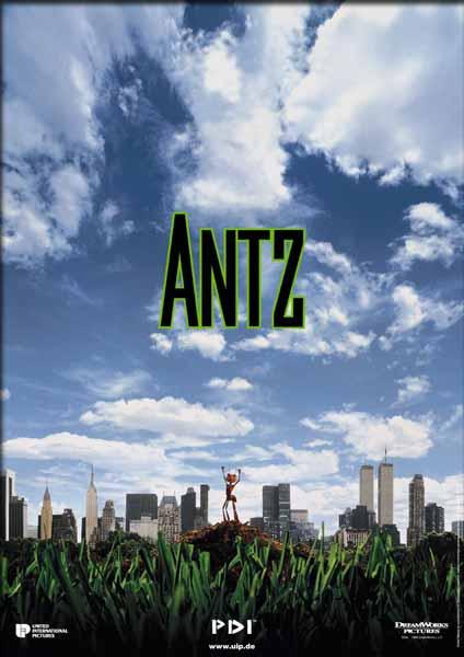 Resultado de imagen para antz 1998 poster