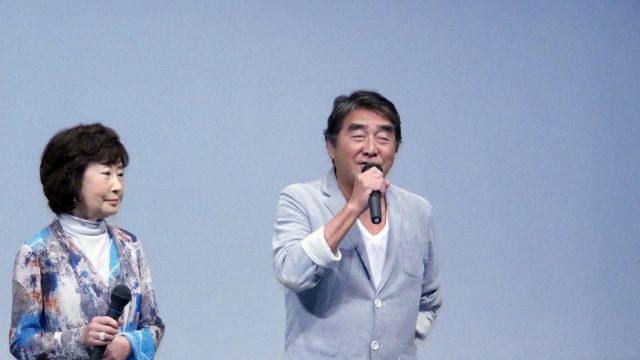 【写真】映画『海すずめ』完成披露プレミア上映会舞台挨拶 (目黒祐樹)