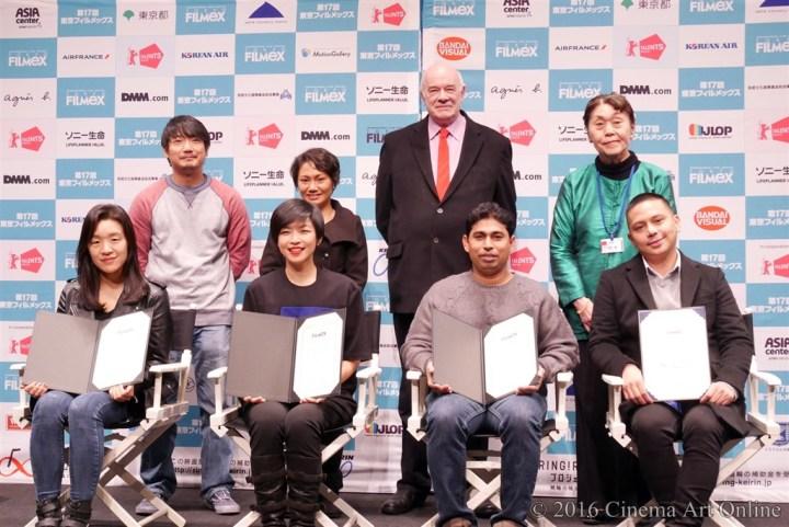 第17回 東京フィルメックス/TOKYO FILMeX 2016 授賞式 フォトセッション