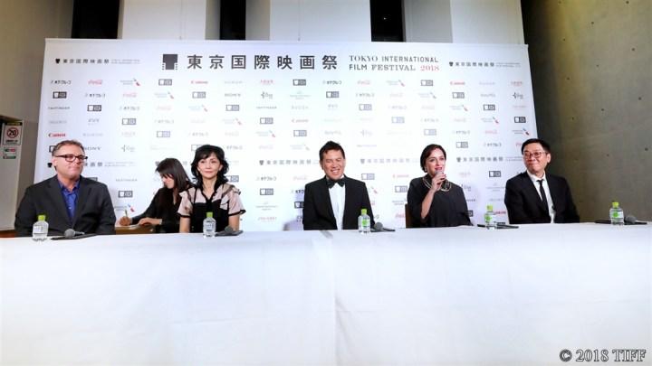 【写真】第31回東京国際映画祭(TIFF) コンペティション国際審査委員&受賞者記者会見