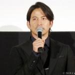 【写真】映画『ザ・ファブル』完成披露試写会舞台挨拶 (岡田准一)