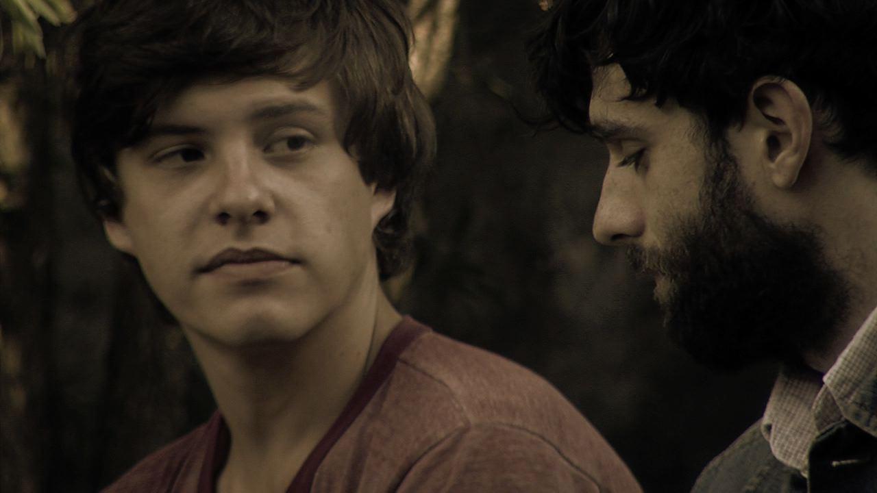 Age (Xavier Samuel) and Damien (Mark Leonard Winter)
