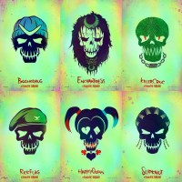 'Suicide Squad' launches character icon logos