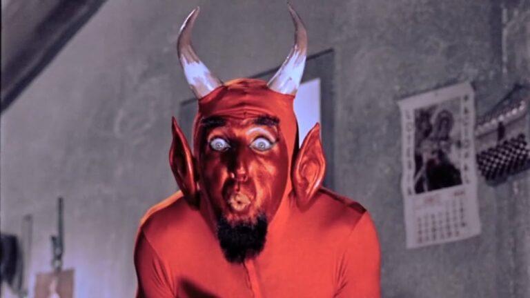 Representación del Diablo, según la película mexicana Santa Claus (1959).