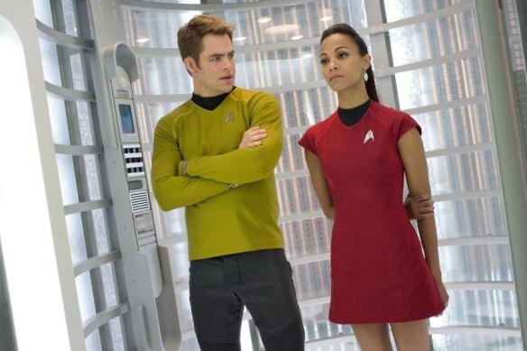 Kirk + Uhura
