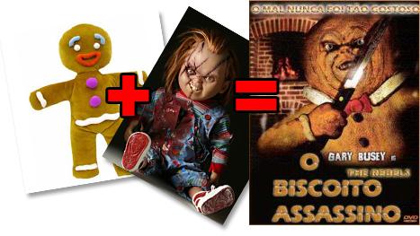 Biscoito Assassino Chucky