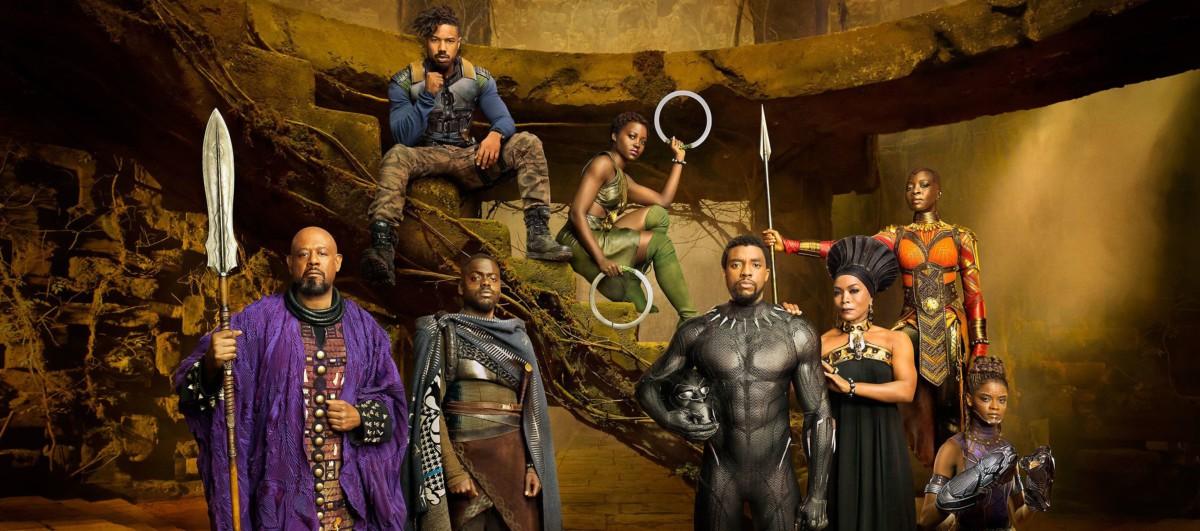 Chadwick Boseman - Pantera Negra