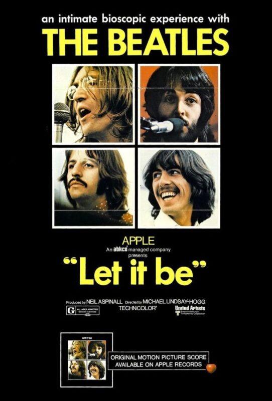 Cartaz de Let It Be