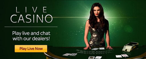 オンラインカジノではライブゲームを選んだほうがいい