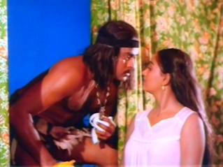 CinemaChaat_Adavi-Donga_Chiranjeevi and Radha