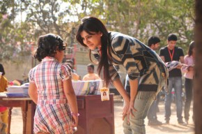Eega_Bindu at work