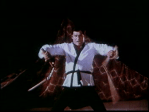 Karate -Deb and nunchaku