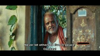 Appadaasu at the door