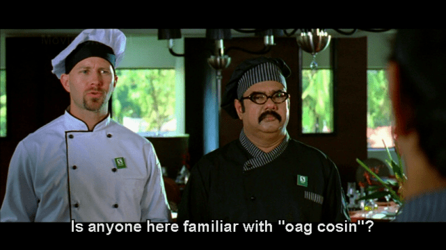 'haute cuisine'