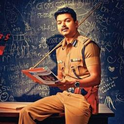 Theri Vijay in school