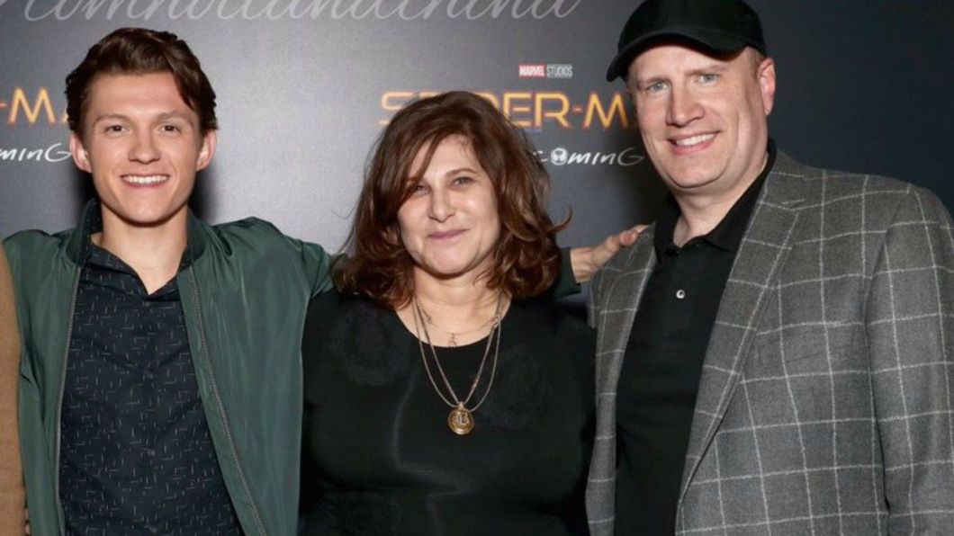 Image result for amy pascal and kevin feige