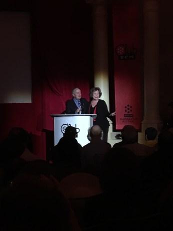 Bruce Goldstein and Diane Baker