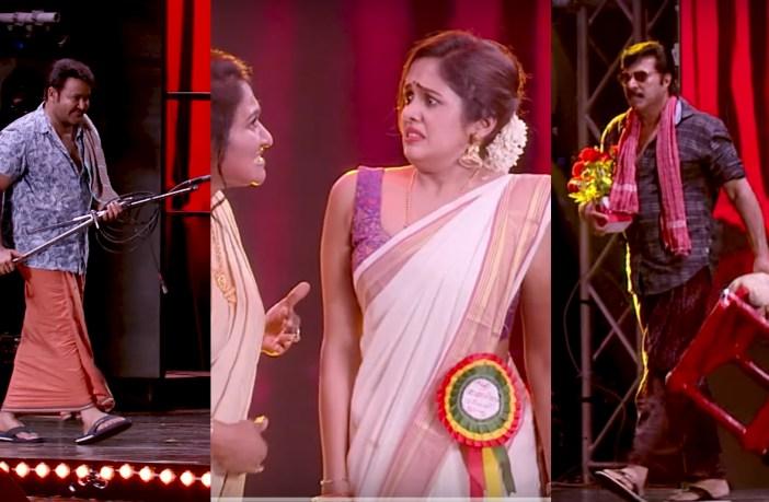 Mohanlal and Mammootty in Amma Mazhavil show