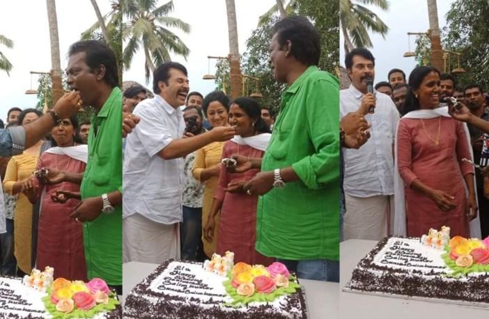 Salim Kumar's Wedding Anniversary is Celebrated at Madhuraraja Location