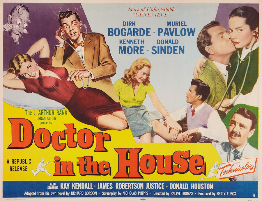 Doctor in the house / Toubib or not toubib (1954)