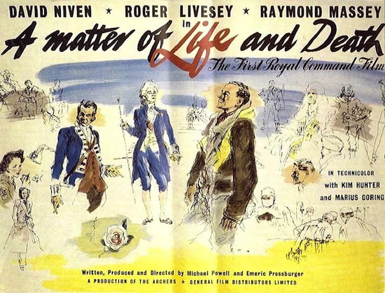 A matter of life and death / Une question de vie ou de mort (1946)