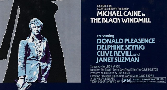 The Black Windmill / Contre une poignée de diamants (1974)