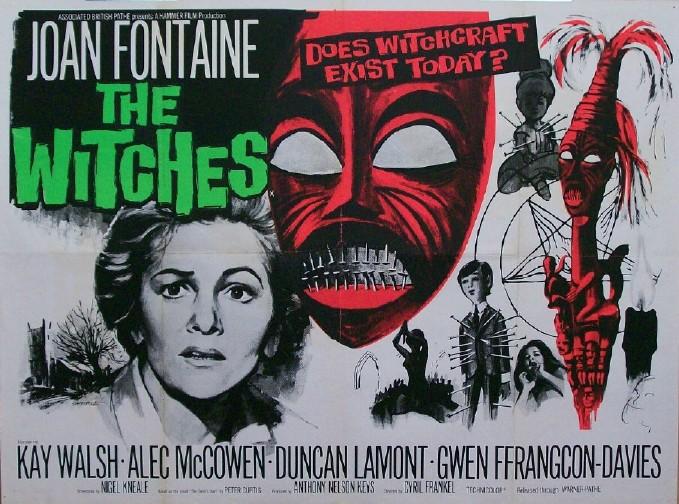 The Witches / Pacte avec le diable (1966)