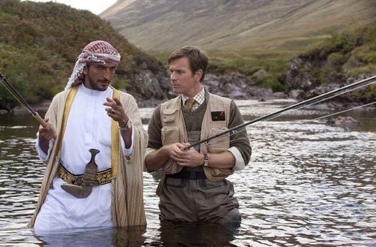 Salmon Fishing in the Yemen / Des saumons dans le désert (2011)