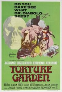 Affiche Jardin des tortures (1967)