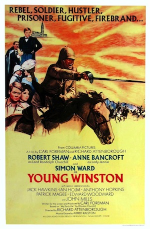 Young Winston - affiche