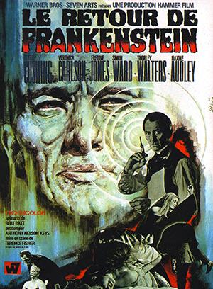 Le Retour de Frankenstein (affiche)