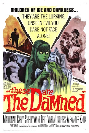These are the damned (poster US)