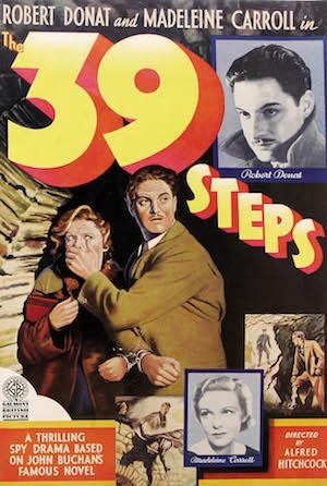 Les 39 marches (affiche)