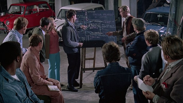 The Italian Job / L'or se barre (1969)