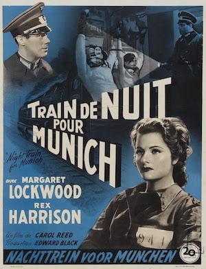TrainDeNuitpour Munich-affiche