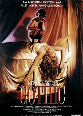 Gothic (1986) affiche